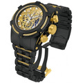 Invicta 13665 Reserve Bolt Zeus Black Gold Steel Swiss