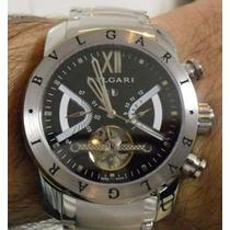 Relógio Bulgar Iron Man Automático - Até 12x Sem Juros