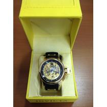 Relógio Invicta 17265 Russian Diver Original Banh. Ouro 18k