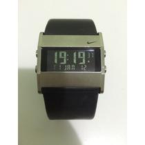 Relógio Nike Oregon Digital Couro Novo