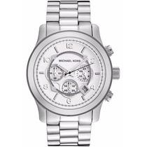 Relógio Michael Kors Mk8086 Prata Original Garantia 1 Ano