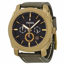 Relógio Fossil Pulseira Couro Cx Manual 11