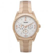 Relógio Orient Frssm019 S2rx Feminino Dourado Rosê- Refinado
