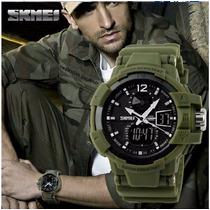 Relógio Masculino Militar A Prova Dagua Pronta Entrega