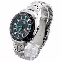 Relógio Casio Edifice Ef-130d 1a2v Pulseira Aço Inox Novo