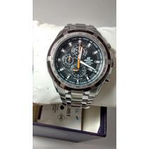 Relógio Casio Edifice Ef-539d Prata Original Ef-539 Crono