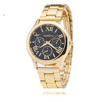 Relógio Masculino Ouro Dourado Casual Esporte Digital