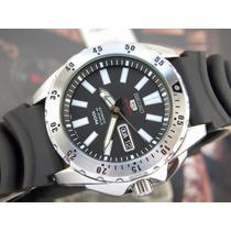 Relógio Seiko 5 Monster Sports Automatico Aço 4r36ao Srp357k