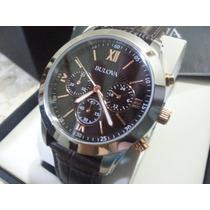 Relógio Bulova Novo Quatz 98 142