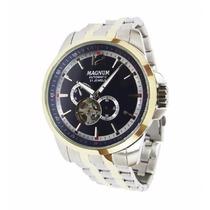 Relógio Magnum Automatico Ma33933a Fundo Transparente - Nf