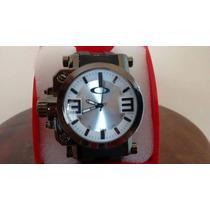 Lindo Relógio Masculino Estilo Oakley Pronta Entrega