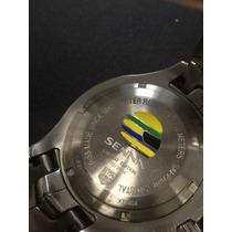 Relógio Tag Heuer Ayrton Senna Link 2004 - Edição Limitada