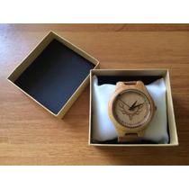 Relógio De Pulso - Masculino - Bobo Bird De Bambu