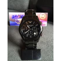 Relógio Emporio Armani Ar1400 Cerâmica Original 12x S/ Juros