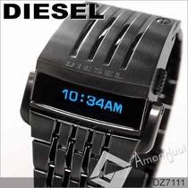 Relógio Diesel Robocop Dz7111 Dz7112 Dourado Ou Preto