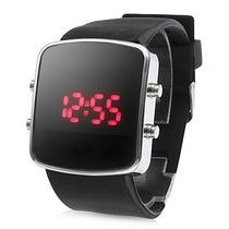 Relógio Led Digital Importado C/ Pulseira De Silicone