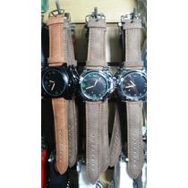 Kit 10 Relógio Masculino Pulseira Couro Preço Em Atacado