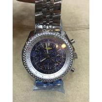 Relógio Masculino Luxo A25362 Fundo Azul Oferta Colecionador