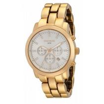 Relógio Seculus Feminino Dourado - 24789lpsgda1