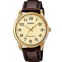 Relógio Casio Modelo Mtp-v001gl-9budf Cx Aço Inox C/ Nfe