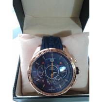 Relógio Grand Carrera Azul Frete Grátis Com Caixa