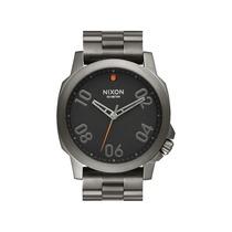 Relógio Nixon Ranger 45 Ss Gunmetal Black