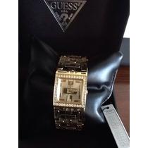 Relógio Feminino Original Guess Dourado Importado Dos Eua