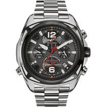 Relógio Luxo Bulova Precisionist 98b227 Chron Anal Prata