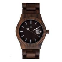 Relógio De Madeira Woodz Cosmo