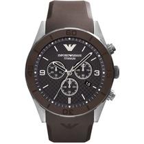 Relógio Emporio Armani Ar5901 Sportivo Titanium Frete Grátis