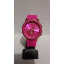 Lindo Relógio Feminino Michael Kors - Rosa Pink E Dourado