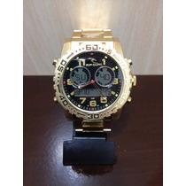 Relógio Rio Curl Golden