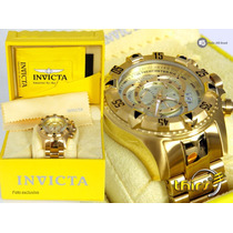 Invicta Original Excursion Reserve 6471 - Banhado Ouro 18k
