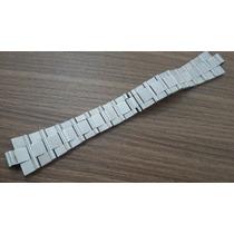 Pulseira Bulgarii Alumínio Aço 22mm