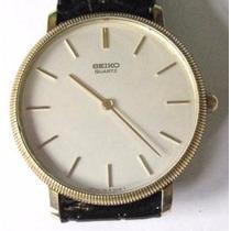 Relógio De Pulso Seiko, Sistema Quartz Japan Lote 137033