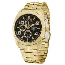 Relógio Masculino Dourado - Ky80150/4p Condor