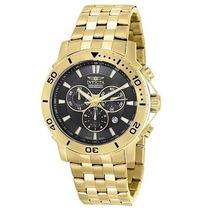 Relógio Invicta 6793 Mens Pro Diver Chronograph Banhado 18k
