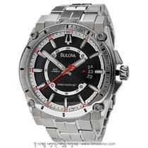 Relógio De Luxo Bulova Precisionist Champlain 96b133 Chronog