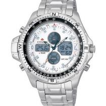 Relógio Citizen Js1040 Promaster Js1040-51a Combo Temp