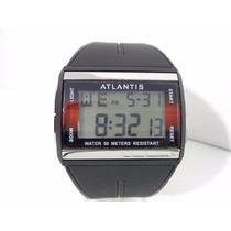 Relógio Atlantis Original A Prova Dágua 50 Mts Barato