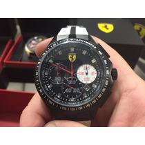 Relógio Ferrari Branco Sf03.1.34.0015 -original+caixa