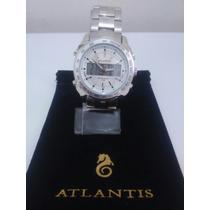 Relógio Masculino Atlantis Em Aço Digital E Analógico