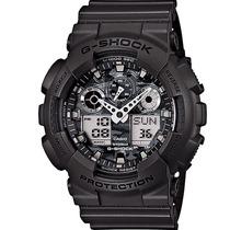 Relogio Casio G-shock Ga 100cf 8adr - Loja - Original -