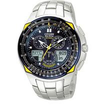 Relógio Citizen Skyhawk Blue Angels Jr3080-58m Jr3090 Em 12x