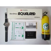 Citizen Aqualand Bj2000-09e + Cilindro Box, Raridade, Novo