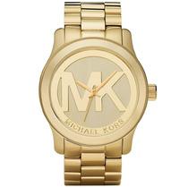 Relogio Michael Kors Mk5473 Dourado Caixa Manual Sedex Grats