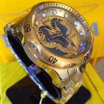 Lançamento Invicta Reserve Venom 14462 Original Banhado 18k
