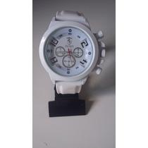Relógio Ferrari Branco De Luxo Frete Grátis