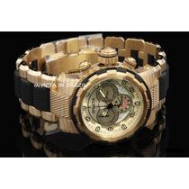 Relógio Invicta 80300 Capsule Original B.ouro 18k Caixa