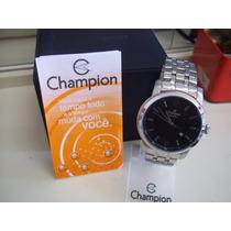 Relógio Masculino Champion Steel